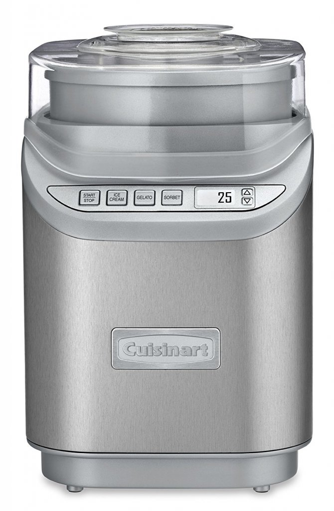 Cuisinart ICE-70C Gelato, Ice Cream and Sorbet Maker