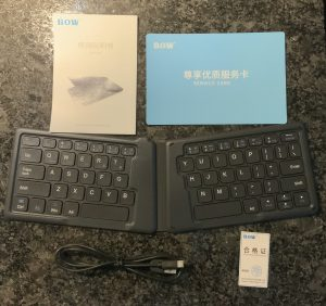 Bluetooth Ergonomic Keyboard